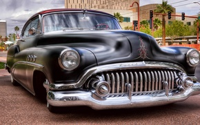 Picture retro, Buick, car, the front, Buick