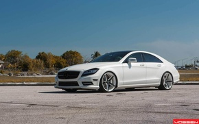 Picture tuning, drives, vossen, Mercedes Benz CLS