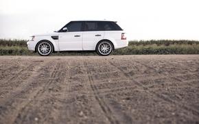 Picture white, Rover, Range