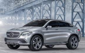 Picture Concept, Coupe, SUV, Silver, Mercedes-Benz MLC