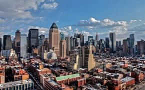 Picture new York, Manhattan, winter, new york, usa, nyc
