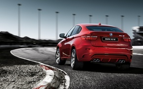 Picture red, bmw, BMW, jeep, Boomer, bmw x6, Beha, x six