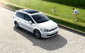 Picture Auto, White, Volkswagen, Machine, Car, 2016, Touran L