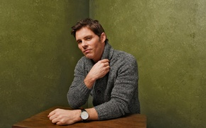 Wallpaper D-Train, The road to Hollywood, for the film, photoshoot, James Marsden, Sundance