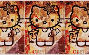 Picture kitty, obey, hello