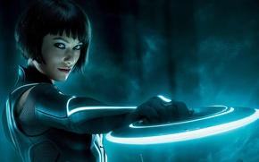 Picture Disk, Olivia, Olivia Wilde, Tron
