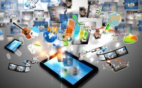 Picture technology, tablet, sensor, innovation