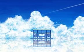 Wallpaper Anime, Summer, Water
