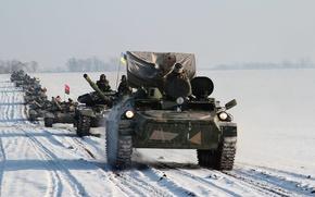 """Picture loyalty, power, devotion, tank, Ukraine, Ukraine, T-72, T-64, honor, BMP, regiment, """"Azov"""", 2016."""