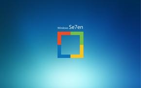 Picture Seven, Seven, Windows Seven, OS Microsoft