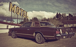 Picture dodge, charger, Motel, 1976