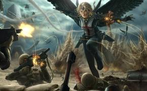 Picture Battle, Warrior, Soldiers