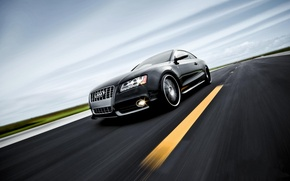Wallpaper auto, road, Wallpaper, Audi