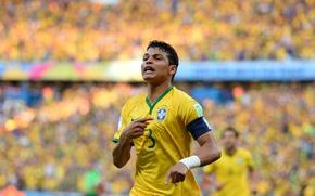 Picture Football, Brazil, Football, Sport, Player, Brasil, FIFA, FIFA, Player, Thiago Silva, World Cup 2014, World …