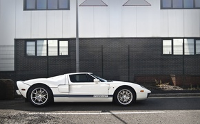 Picture white, white, sports car, ford, Ford, sportscar