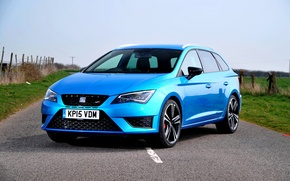 Wallpaper seat, Seat, Lyon, UK-spec, 2015, 280, Cupra, Leon