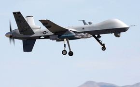 Picture Reaper, MQ-9, General Atomics Aeronautical Systems, GBU-12 Paveway II, reconnaissance and strike UAVs, guided bomb …