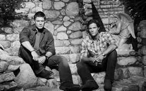 Picture men, Supernatural, ot Zeus, sam, din