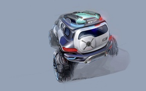 Picture Mercedes-Benz, concept, G-Force, Ener