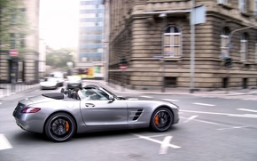Picture Roadster, Mercedes-Benz, AMG, SLS