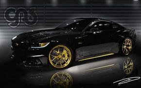 Picture Ford Mustang, Design, Tuning, Galpin, Black&Gold Edition