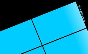 Picture background, logo, Windows8