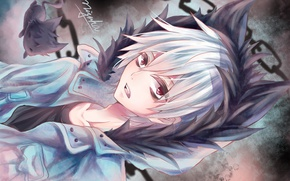 Picture anime, KURO, guy, art, Servamp, vampire