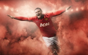 Picture football, sport, England, club, form, sport, player, football, Wayne Rooney, Rooney, Manchester United, Manchester United, …