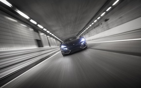 Picture movement, speed, track, the tunnel, HyperSport, Lykan