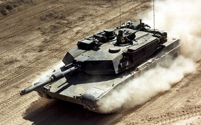 Picture weapons, tank, Abrams