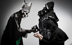 Picture mask, Ghost, dedication, nameless ghouls, papa Emeritus II