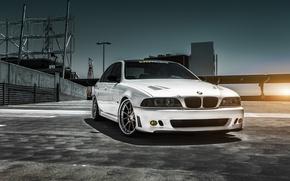 Picture car, BMW, car, sedan, tuning, 5 series, bmw m5, e39