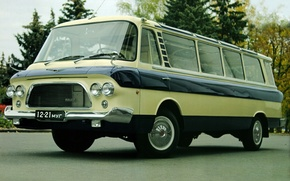 Picture rarity, minibus, ZIL, project-118, Youth