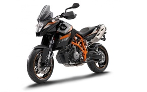 Picture motorcycle, KTM, 990, Supermoto