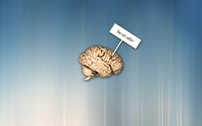 Wallpaper Brain, Creative, Be Creativ, Be Creative