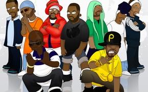 Picture actors, musicians, Inspectah Deck, Masta Killa, Ghostface Killah, Method Man, Method Man, Wu Tang Clan, …