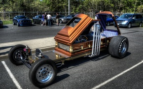 Picture Parking, the coffin, Custom Car