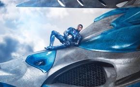 Picture cinema, wallpaper, robot, sky, blue, cloud, power, man, movie, hero, film, pose, suit, warrior, powerful, …