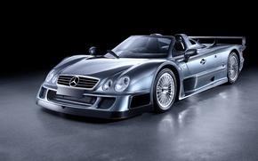 Picture Roadster, Mercedes-Benz, 2006, GTR, supercar, Roadster, Mercedes, AMG, CLK, AMG, Road Version, RHD