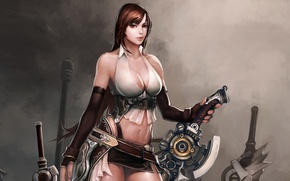 Picture Chest, Sword, Warrior, GameWallpapers, Divine Souls