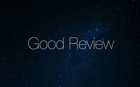 Picture space, the inscription, font, thin, Good Review