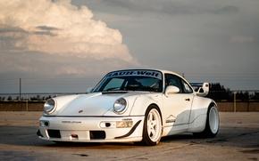 Picture Porsche, 964, Turbo, Track, RWB, Function, ADV5