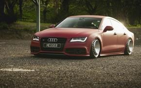 Picture road, machine, Audi, power, car, drives