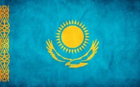 Wallpaper freedom, flag, Kazakhstan