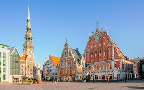 Picture Old Town, Riga, Latvia