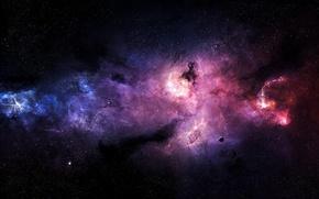 Picture stars, nebula, planet, Stefan Veselinov, Pyres Of Atonement