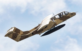 Picture cabin, pilot, attack, Rockwell, easy, OV-10 Bronco