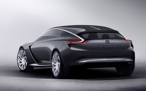 Picture Concept, Opel, Rear, (2013), Monca