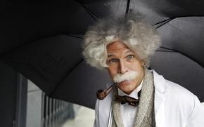 Picture look, umbrella, tube, male
