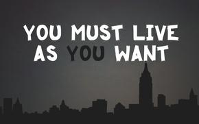 Picture life, dark, goal, The city, motivation, desire